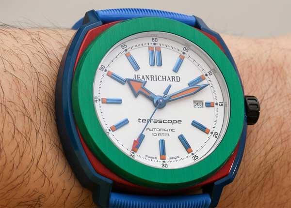 JeanRichard Terrascope Aluminum: по-детски яркий консерватизм - #JeanRichard