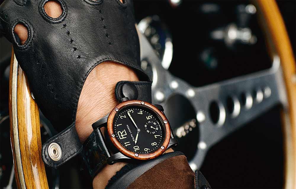 Наручные часы из живых материалов: Ralph Lauren Automotive Skeleton