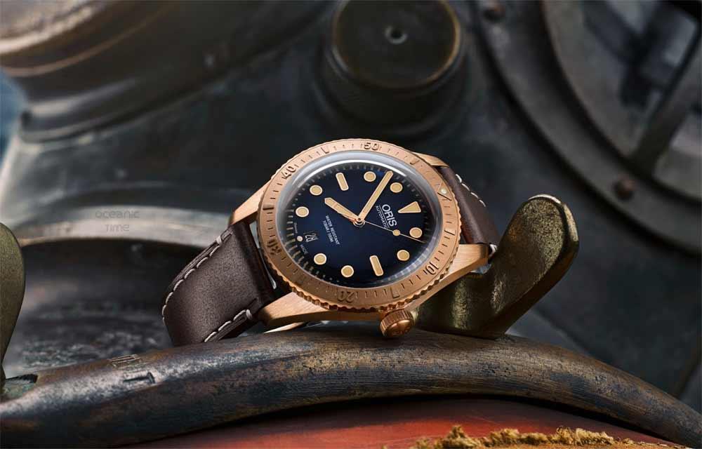 Наручные часы из живых материалов: Oris Carl Brashear Limited Edition