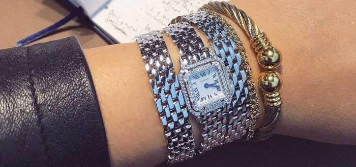 Сочетание серебра и золота - новое измерение моды