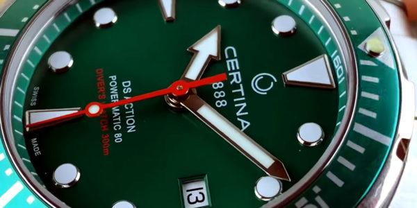 Часы швейцарской марки Certina — о чем они?