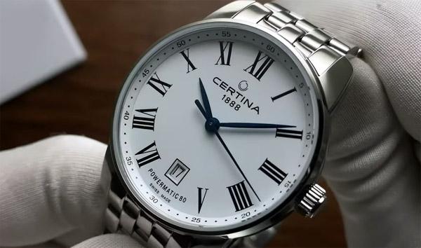 Часы швейцарской марки Certina - о чем они?
