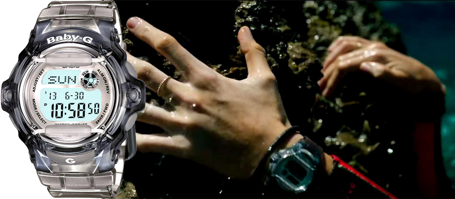 Часы киногероев - современные и раритетные Casio на большом экране - Casio Baby-G BG169R-8