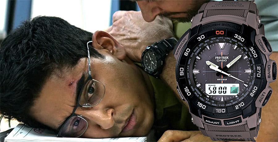 Часы киногероев - современные и раритетные Casio на большом экране - Protrek PRG550-1A1