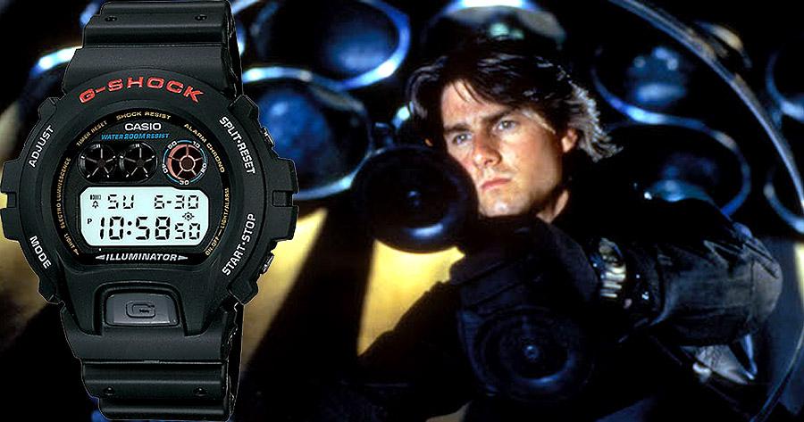 Часы киногероев - современные и раритетные Casio на большом экране - G-Shock DW69001V