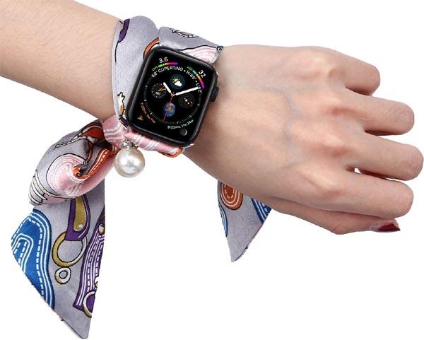 Что можно пошить из шифона - браслет для часов